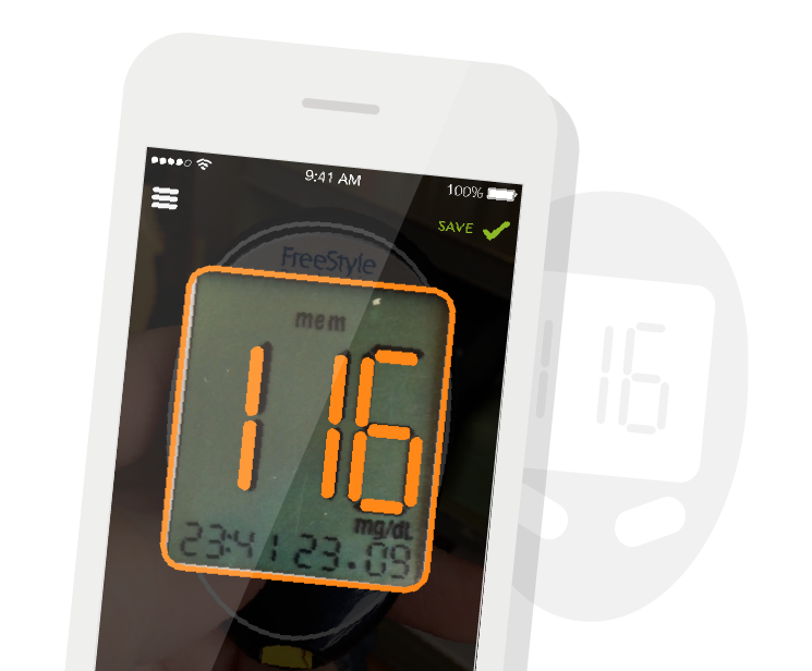 picture of the mySugr Importer with meter