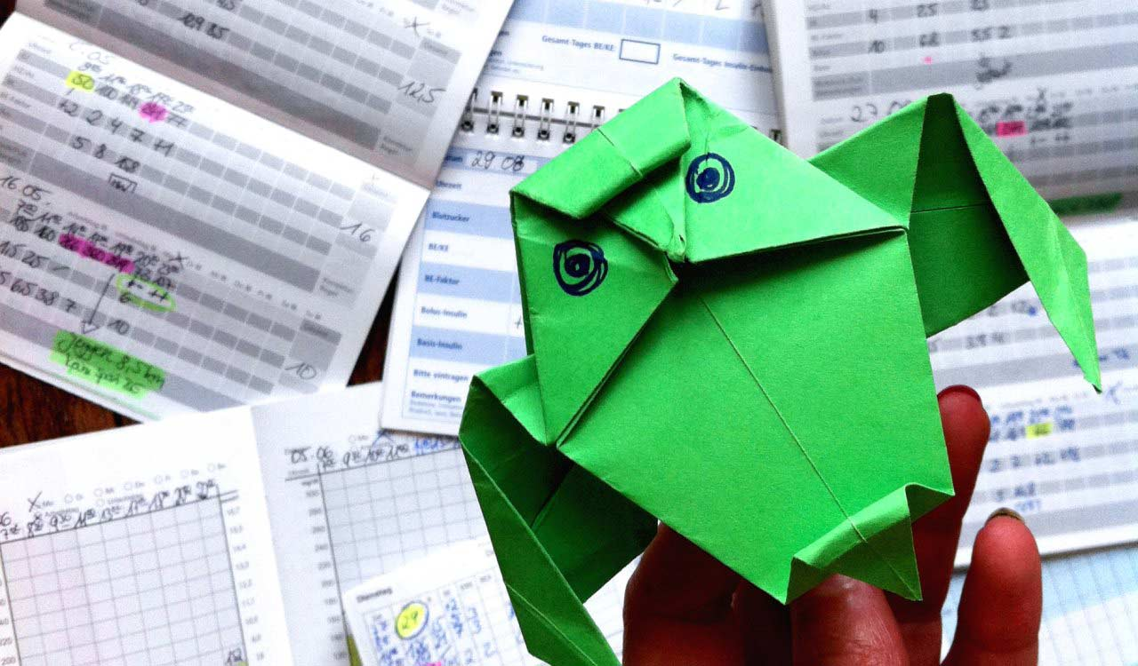 Paper is for origami, not diabetes logbooks