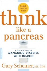 "Cover image of ""Think Like a Pancreas"" book from Gary Scheiner"