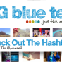 Big Blue Test Collage and Header from DHF
