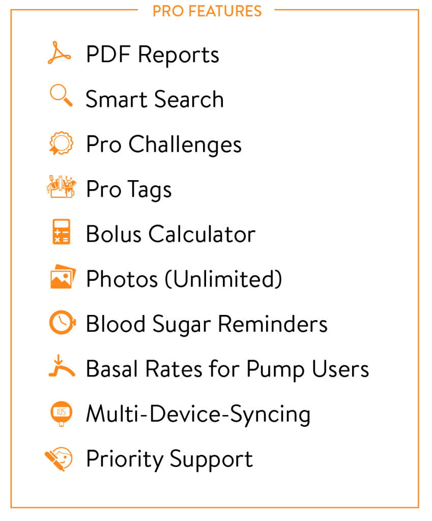 mySugr Pro Features