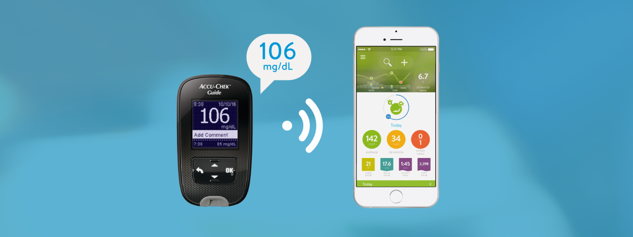 Getting started with Accu-Chek Guide and mySugr