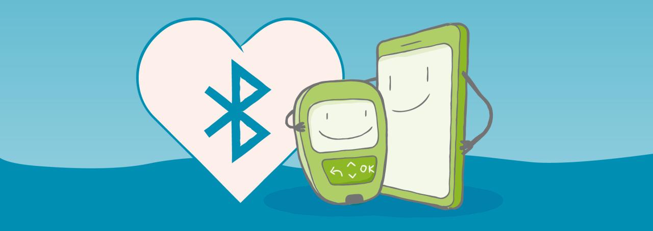 Leg los mit Accu-Chek® Guide und der mySugr App!