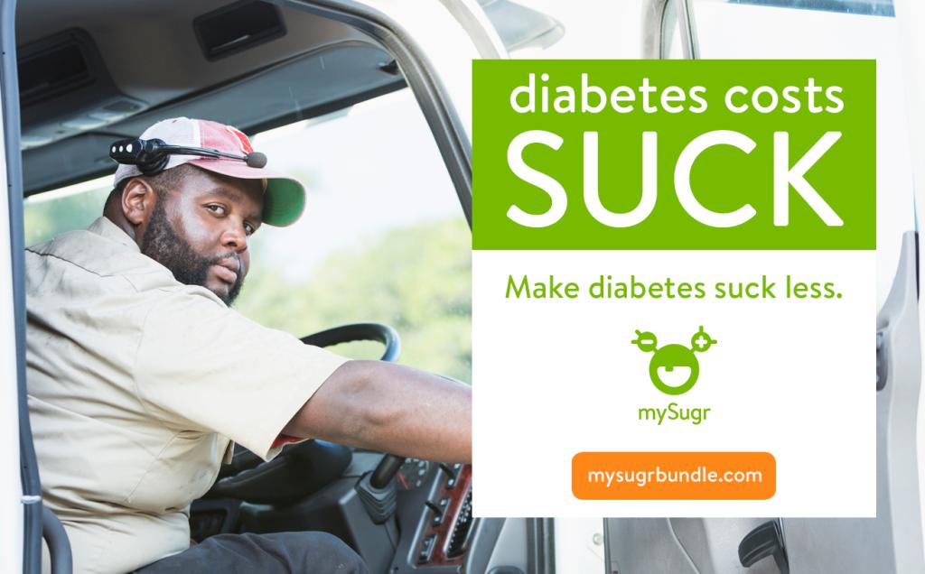 Diabetes Costs Suck - mySugr Bundle - make diabetes suck less